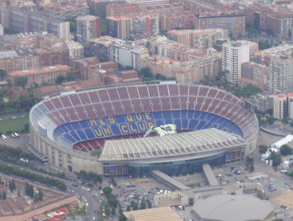 The Camp Nou Stadium - Barcelona