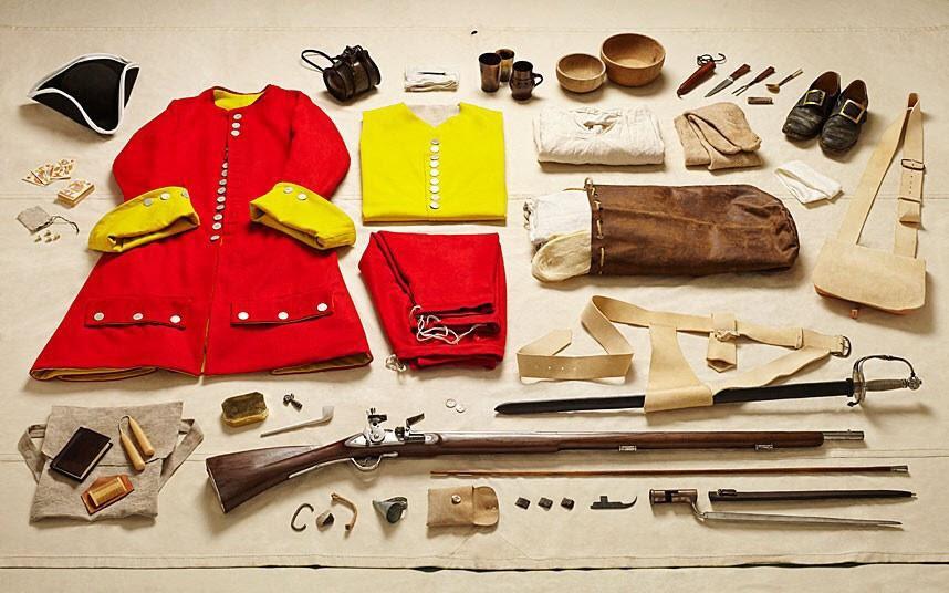 battlegear06 Полное боевое снаряжение британских солдат от 1066 до 2014 года