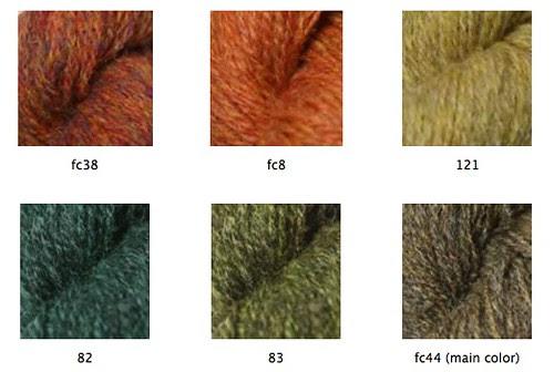 Fair Isle Yoke Sweater Colors