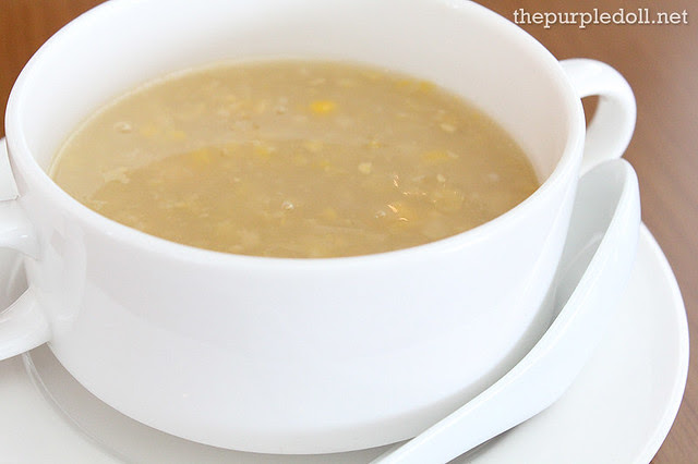 Plate 04 Cream of Corn Soup