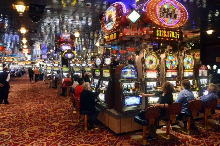 It's very similar to the Sex In The City slots, but has more bonus rounds that are suppose to trigger more often when you play max bet ($) at some casinos, $ at others..