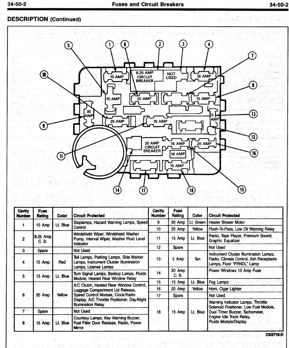 C2b18b 91 Mustang Engine Fuse Box Wiring Library