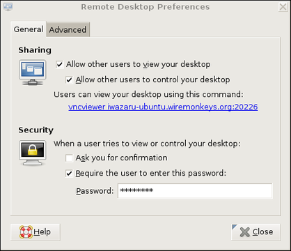 how to use remote desktop without password