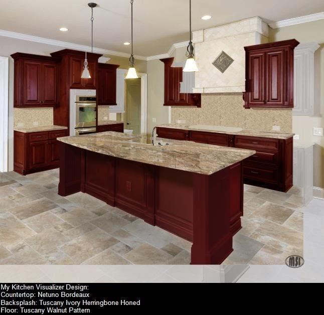 Granite Countertops Virtual Kitchen Design - blogert