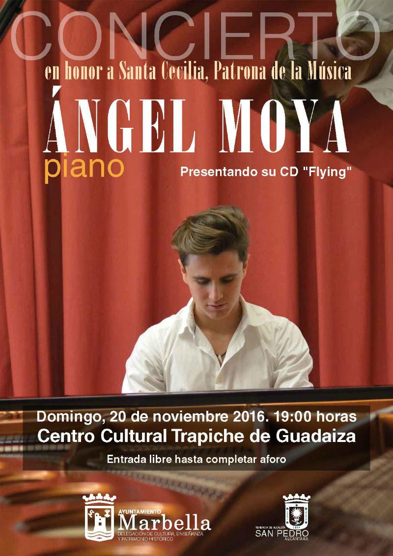 Resultado de imagen de Concierto de Piano: CONCIERTO DE PIANO: ÁNGEL MOYA.
