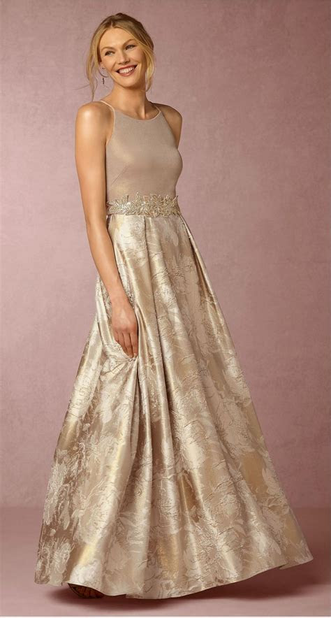 Champagne mother of the bride dress   Lizbeth Dress from