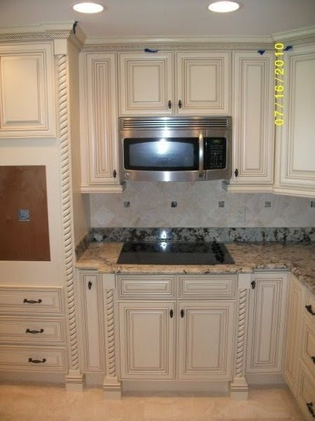 Off White Kitchen Cabinets With Glaze | Modern Home Design ...