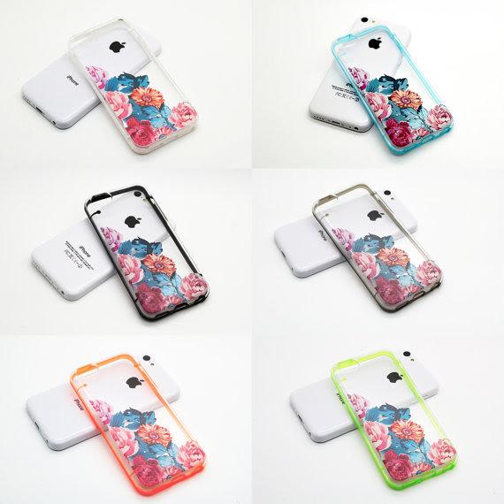 Iphone 5c 5s 5 Case Iphone 6 6 Plus Transparent Case Vintage