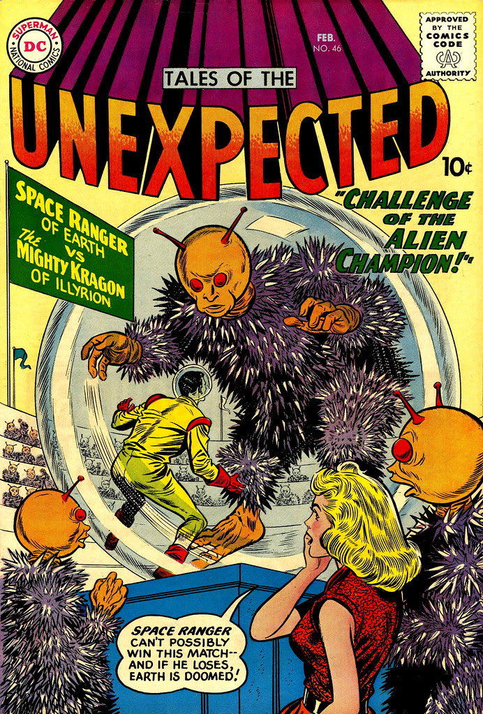 Tales of the Unexpected #46 (DC, 1960) Dick Dillin cover