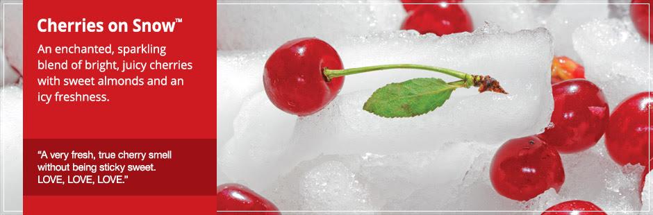 Cherries On Snow
