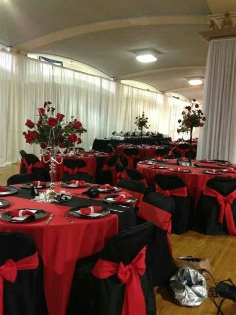 Red black pearls Wedding   Our Old Hollywood Glam Wedding