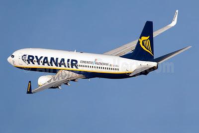 Ryanair Boeing 737-8AS WL EI-EKJ (msn 38497) (Comunitat Valenciana) BCN (Guillaume Besnard). Image: 910107.
