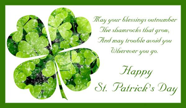 Happy St Patricks Day 2018 Images Pictures Messages Sayings