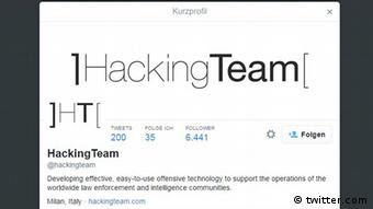 Screenshot Hacking Team