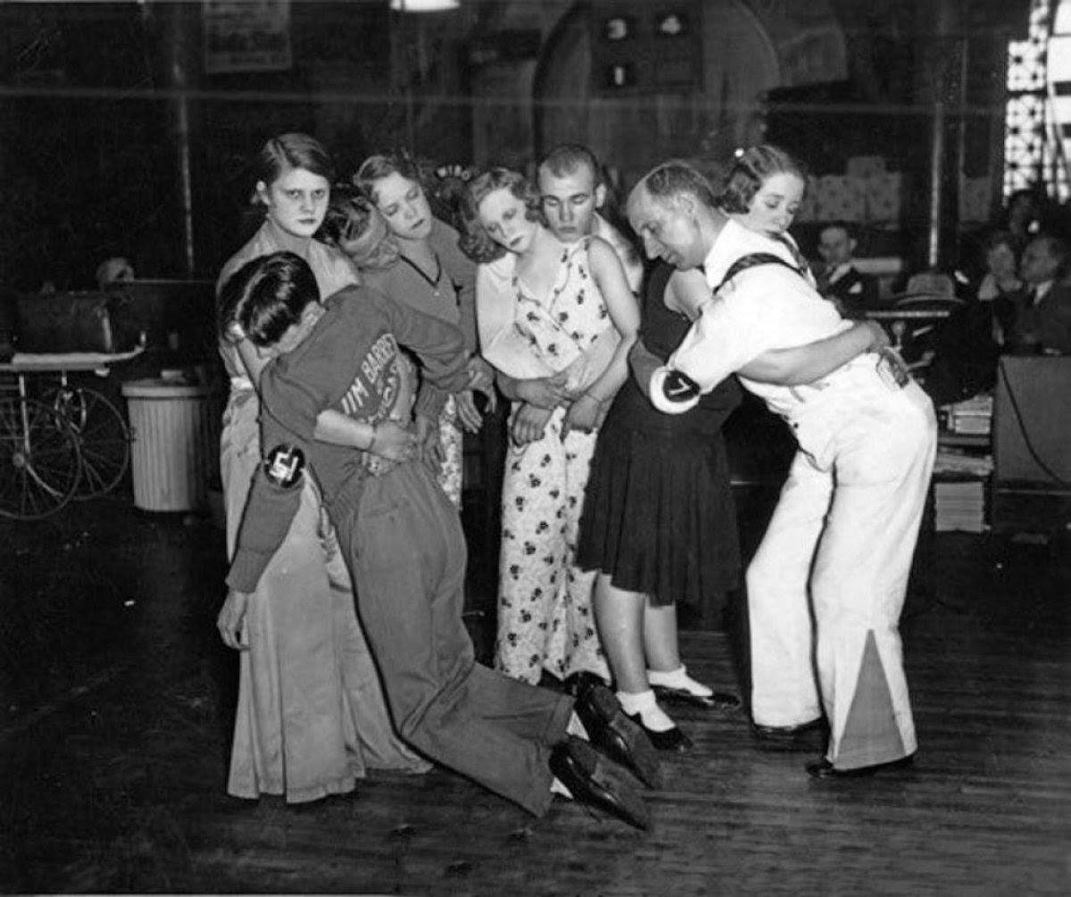 As loucas maratonas de dança da Grande Depressão 09