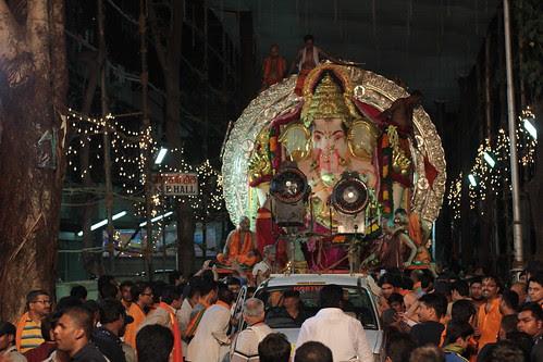 GSB Seva Mandal Lord GSB Ganesha Visarjan Journey 2012 by firoze shakir photographerno1