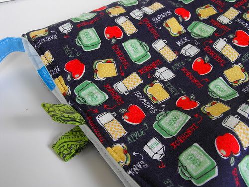 Lunch Box Lunch Tote fabric