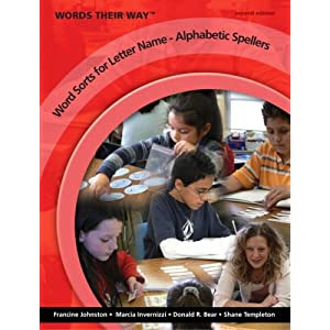 Words Their Way: Word Sorts for Letter Name - Alphabetic Spellers (2nd Edition)  (Three-hole Punched)