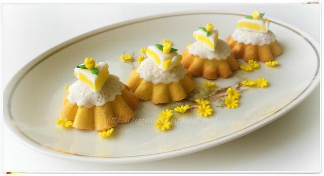 Crostatine creative decorate con pasta di zucchero