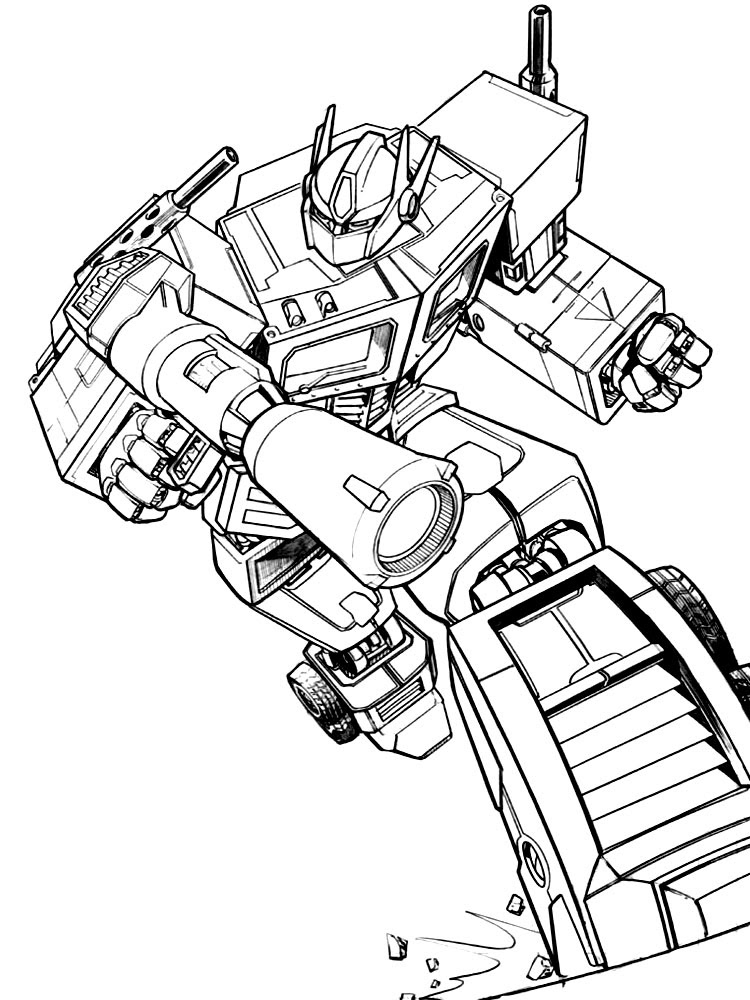 Transformers 4 Dibujos Para Colorear Dibujos Para Pintar