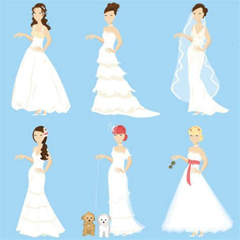 Delisha's blog: Wedding dress cartoon Years later and I