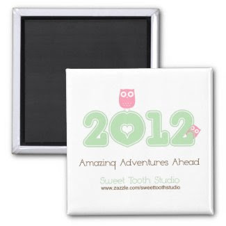 2012 Amazing Adventures Ahead magnet