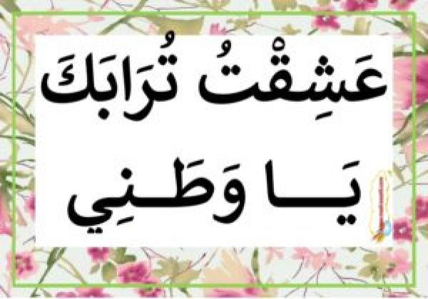 كلمات عن حب الوطن والدفاع عنه Aiqtabas Blog