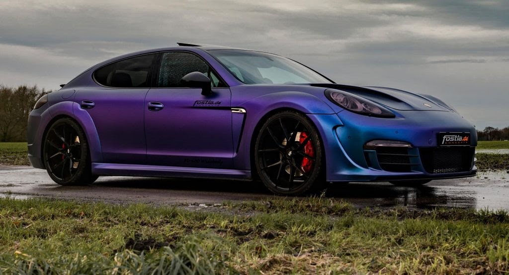 The '90s Called; They Want This Tuned Porsche Panamera Back ~ Motors Master