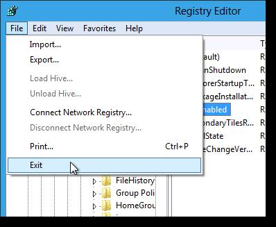 05_closing_registry_editor