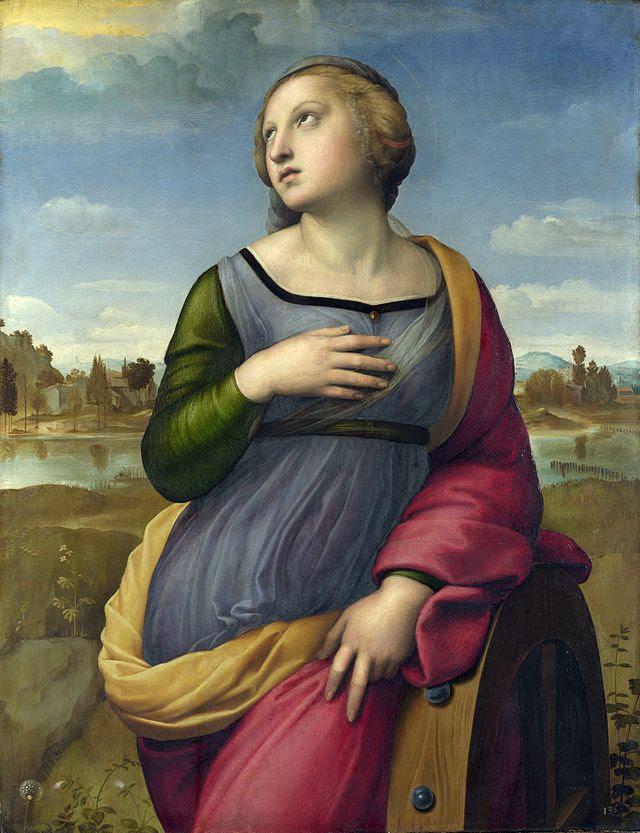 Santa Caterina d'Alessandria, di Raffaello Sanzio
