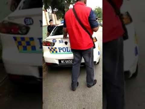 [Video] Puak PH Buat Roadblock Tahan & Buat Pemeriksaan Pada Kereta Polis