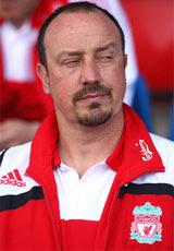 Benitez - has first dibs on your spleen