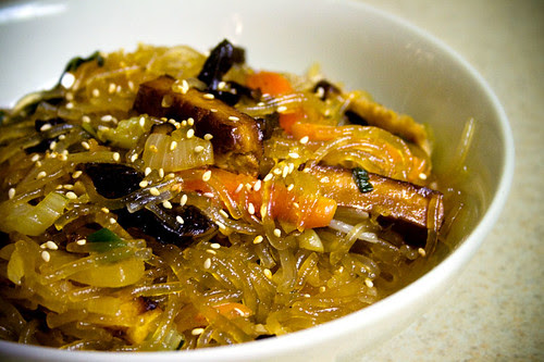Korean Noodle Stir-Fry