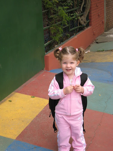 Zoe First Day of School