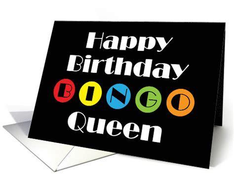 Bingo Queen Happy Birthday card (1417924)