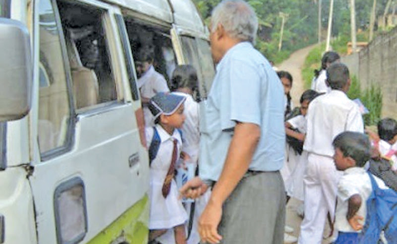Impaired school bus driver fined Rs.8,000