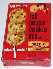 Toll House Cookie Mix box