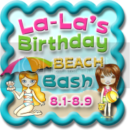 Please join us for a fun-filled, week-long celebration for La-La Land's FIRST BIRTHDAY!!  Lots of games hops and PRIZES!