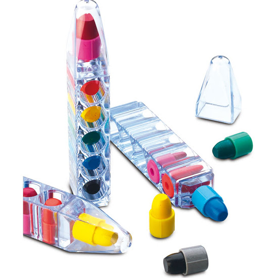 Kurşun Kalem Marker 6 Lı Bal Mumu Pastel Boya Seti Promosyon