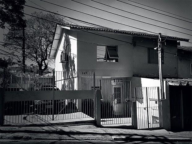 BUUUU!!! A filial do Conselho do Sesi em São Bernardo, São Paulo. Os funcionários deveriam trabalhar lá, mas ninguém conseguia vê-los antes da visita dos caça-fantasmas  (Foto: Rogério Cassimiro/ÉPOCA)