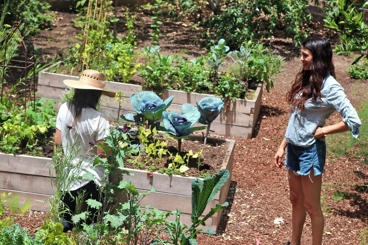ediblegardensla:  Working with Shiva Rose in her vegetable garden.  Pulling the winter garden, amending the soil and planting her favorite summer vegetables and fruits.  Click the photograph above for more photos and the full story on her wonderful blog, The Local Rose.