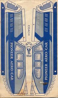 Lee givaway aerocar A,  NLL 1933