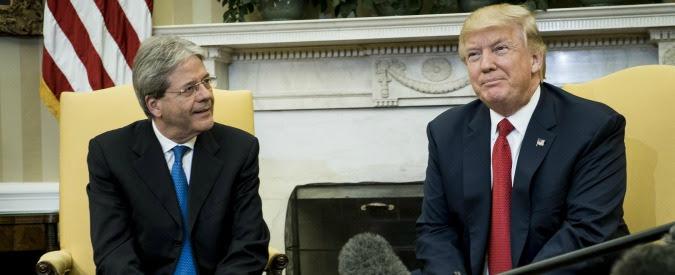 """Nato, Trump a Gentiloni: """"Gli ho detto che l'Italia deve dare più soldi. E lui pagherà"""""""