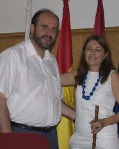 Yolanda Picazo, cuando era alcaldesa de Las Pedroñeras.