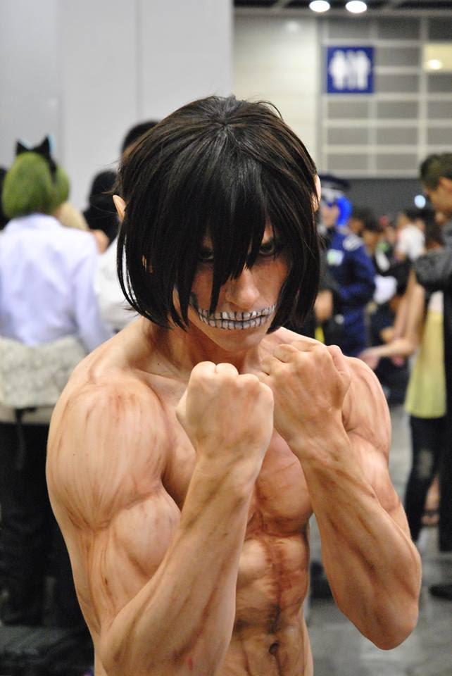 Ataque ao Titan Cosplay 10