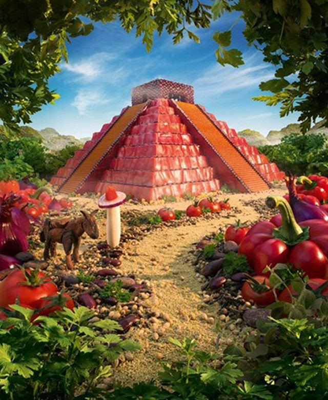 As paisagens com comida de Carl Warner 27