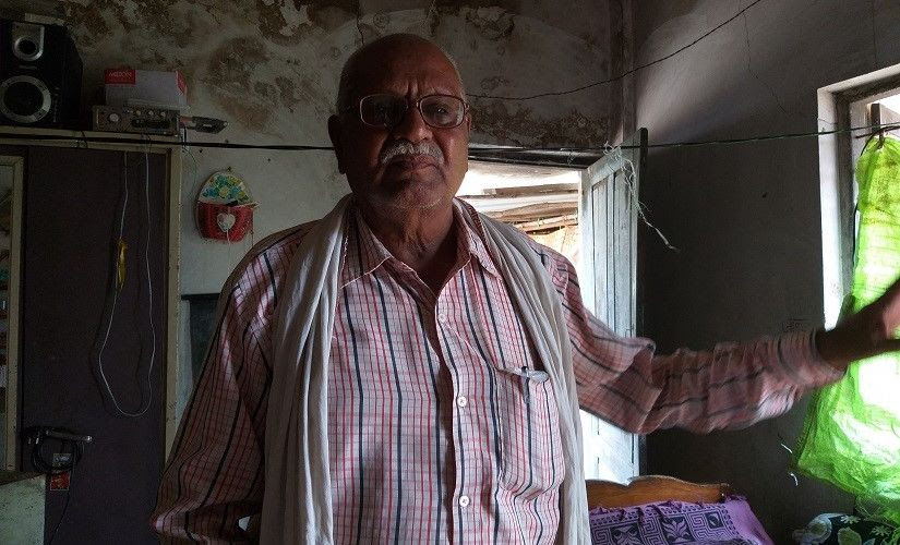 Vasudev Kamble, a private contractor, whose truck was seized by the forest department. Firstpost/Natasha Trivedi