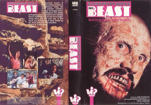 ANTROPOPHAGOUS THE BEAST (VHS Box Art)