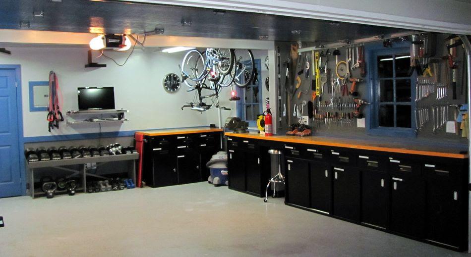 как из гаража сделать кухню фото вечно
