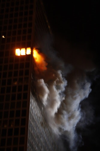 Fire at Deluxe Apartment in the Sky